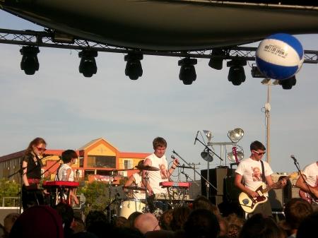 Street Scene 2009 - Los Campesinos!