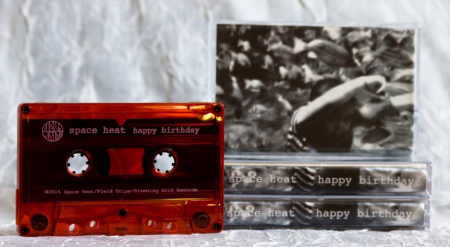 Space Heat red cassette